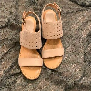 Born Geometric Sandals